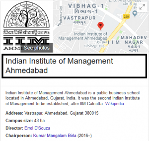 IIM Ahmedabad - Top MBA College