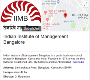 IIM Bangalore - Best MBA College in India