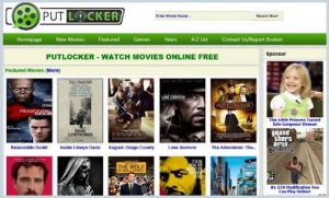 Putlockers - Online Streaming Site