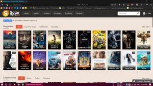 SolarMovie - Streaming Site for Movies