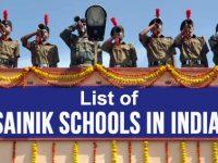 Top Sainik Schools in India