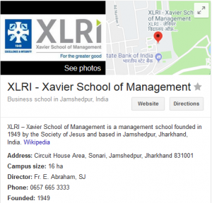 XLRI - Xavier School of Management, Jamshedpur