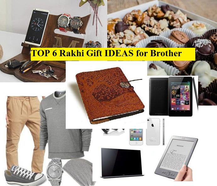 Top 6 Rakhi Gifts for Brother on Raksha Bandhan 2021