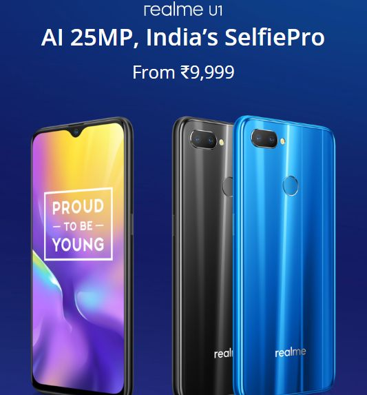 Realme U1 mobile under 10000