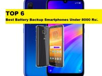best battery backup phones under 8000