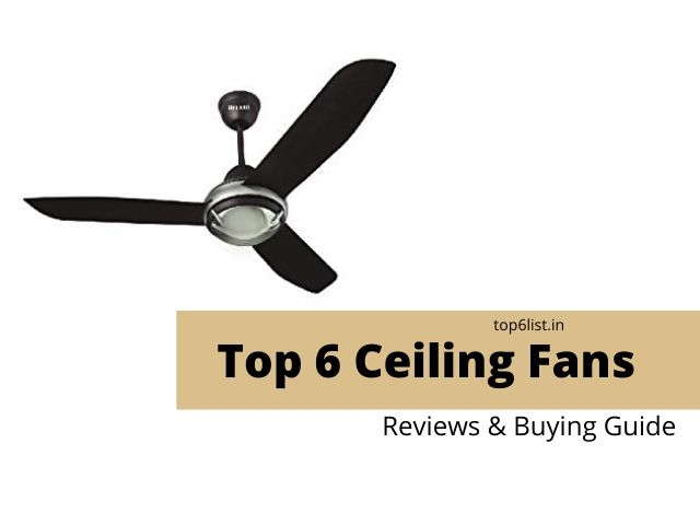 Ceiling Fan in India