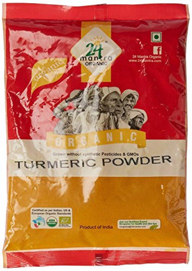 24Mantra Organic Turmeric Powder, 200 Grams , 2 Pcs