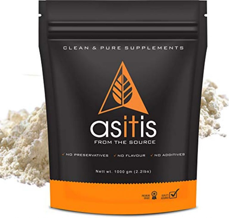 AS-IT-IS Nutrition Brown Rice Protein 80% | Designed as Meal supplement | Vegan Plant Protein | Lab Tested | Unflavoured (1000gm)