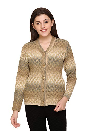 Aarbee Women's Blended V-Neck Sweater