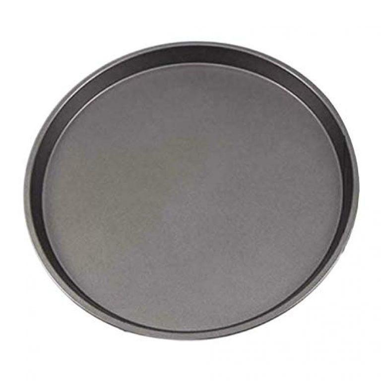 BAKEFY ® Non-Stick Pizza Baking Mold Bread Cake Baking Pan, Black, 29 cm