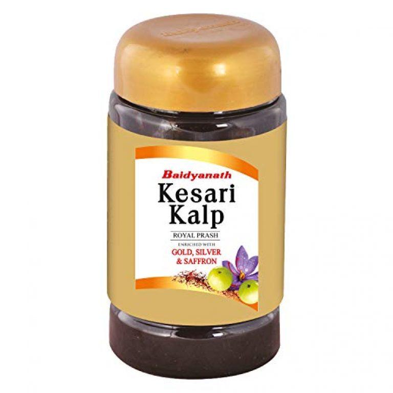 Baidyanath Kesari Kalp Royal Chyawanprash – Enriched with Gold, Silver and Saffron – 1kg