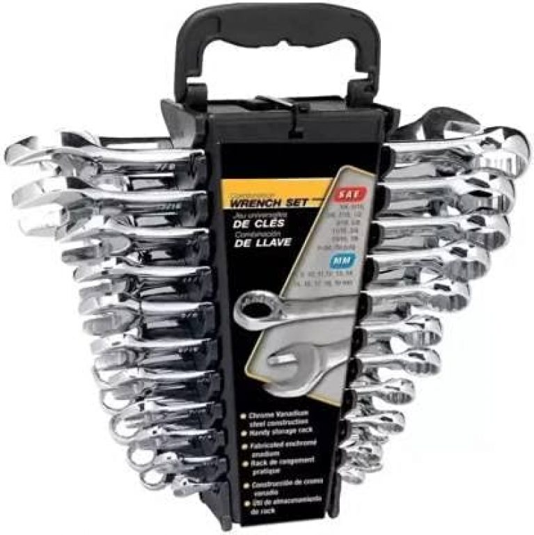 DARKFALCON Flickers Wrench set Double Sided Combination Wrench (Pack of 12)