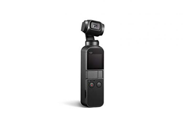DJI OSMO Pocket Handheld 3 axis Gimbal with Integrated Camera (Black) | 12 MP Camera | 4K Video at 60 FPS