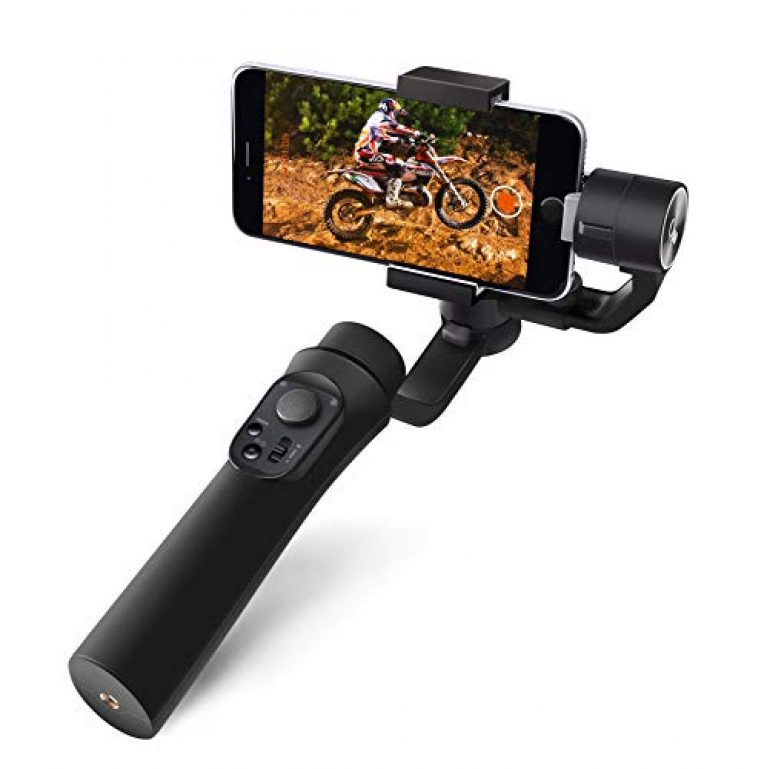 E-Image Q50 3-Axis Smartphone Gimbal Stabilizer Phone Stabilizer 360° Rotation Inception Mode Stunning Motion Timelapse