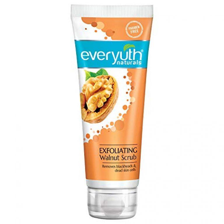 Everyuth Naturals Exfoliating Walnut Scrub, 100gm, Tube