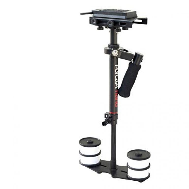 Flycam Nano Handheld Camera Stabilizer with Quick Release Plate for DSLR Mini/DV Cameras (Black)