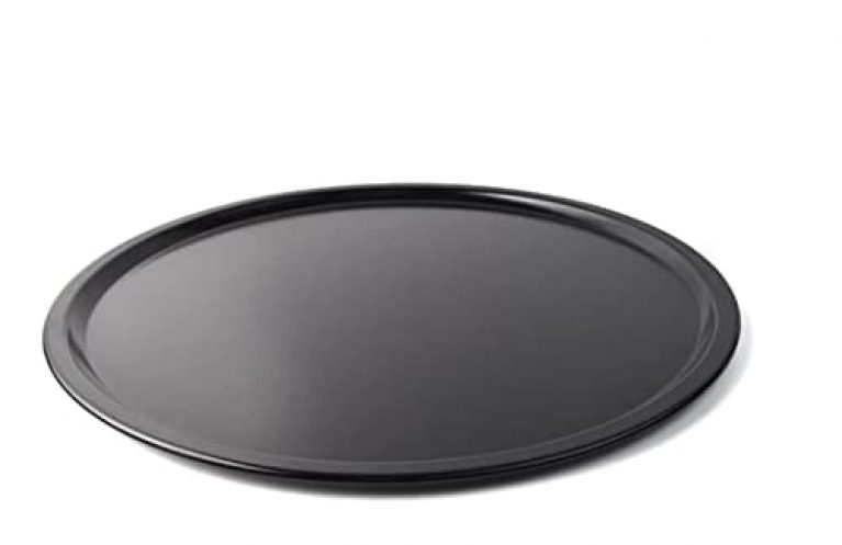 G-Mart Carbon Steel Non-Stick Baking Tray Hard Anodized Pizza Plate Baking Tool for Microwave Oven