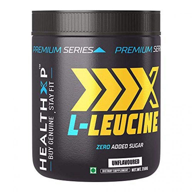 HEALTH XP L-Leucine, 250 gm