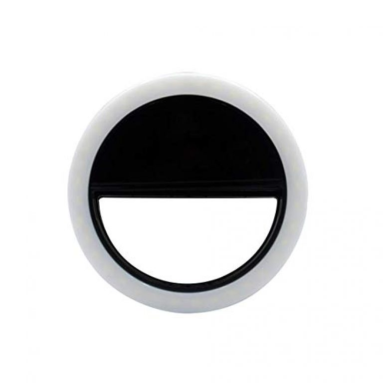 HOTNIX Portable Selfie Beauty LED Ring Light   Camara Light   Video Shooting Flash   Tiktok Ring Light Compatible with All Smartphones