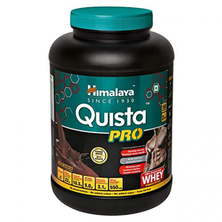 Himalaya Quista Pro Advanced Whey Protein Powder – 2 kg (Chocolate)