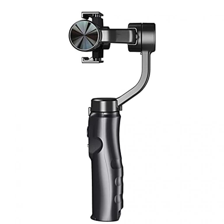 Homgee Handheld 3-Axis Gimbal Stabilizer with Tripod for Smartphone 330 Degree Rotatable 3 Modes Portable for Vlog Live Stream Video Record