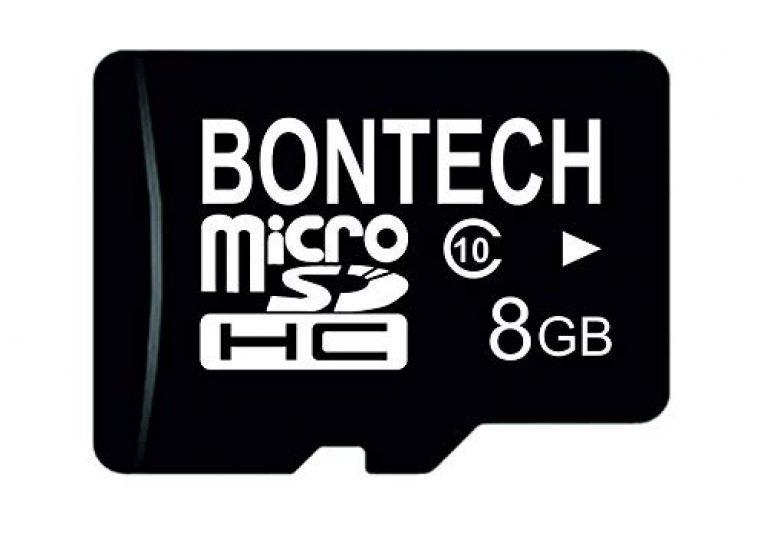 JPZ BONTECH WORLD'S FIRST CHOICE 8GB Flash Micro SD Card(Black)