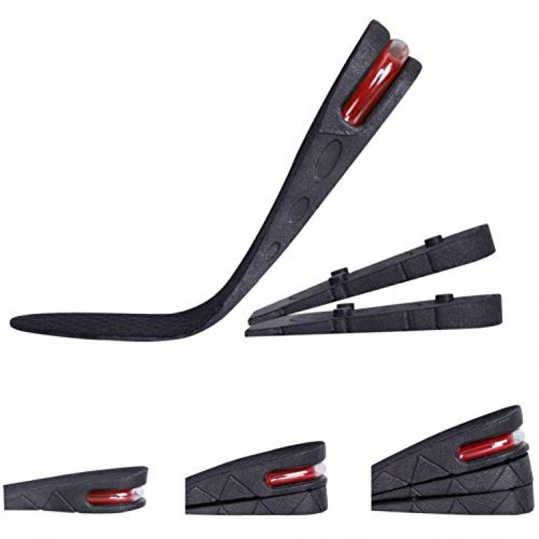 Lify New 3 Layer 7 cm (2.7 inch) Height Increase insoles Taller Insoles Shoes Pad Air Cushion for men and women
