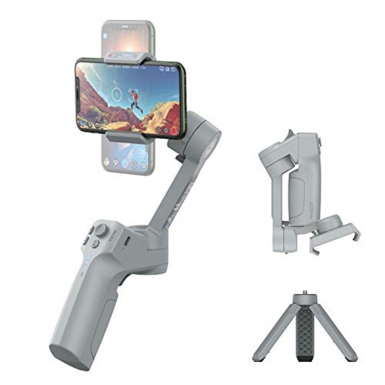 MOZA Mini-MX 3-Axis Smartphone Gimbal Handheld Stabilizer Vlog Youtuber Live Video for iPhone Android Samsung Galaxy for iPhone 11/11pro/11pro/ Xs/Xs Max/Xr/X