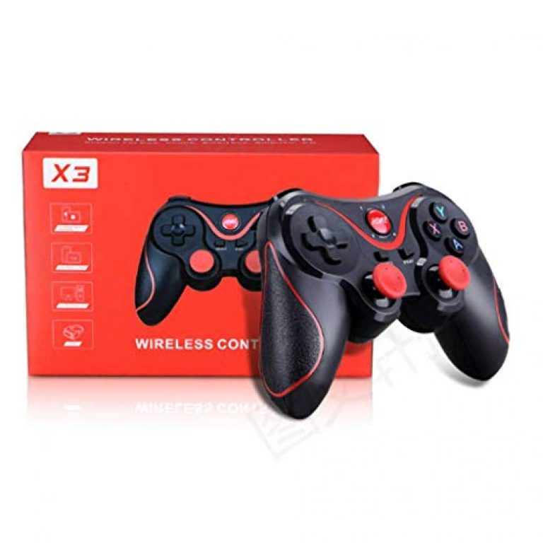 Maxcom X3 Game Controller Smart Wireless Joystick Android Gamepad Gaming Remote Control Phone for PC Phone Tablet ( NO Supporting iOS )
