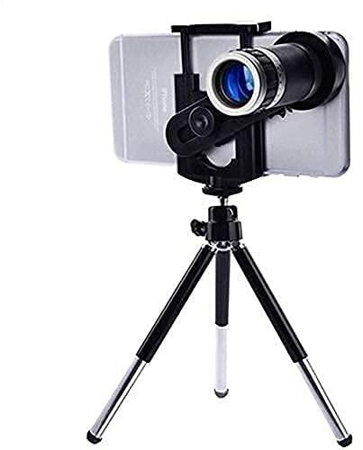 Mobile Blur Background 14X 4K HD Optical Zoom Mobile Telescope Lens kit for All Mobile Camera | DSLR Blur Background Effect Macro Lens & Wide Angle Effect Lens