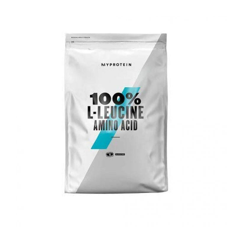Myprotein 100% L- Leucine Powder   Helps Muscle Repair & Growth  Vegan   Gluten Free   Unflavoured   250 g
