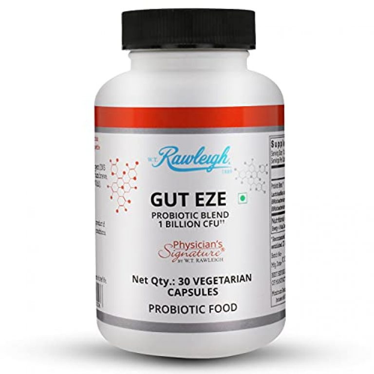 Nature's Answer Gut Eze Probiotic   Lactobacillus & Bifidobacterium for Better Immunity, Better Nutrient Absorption,Digestion and Metabolism   30 Capsules