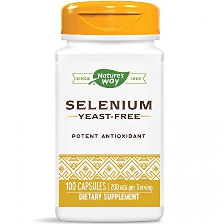Nature's Way Selenium 200 Mcg – 100 Capsules
