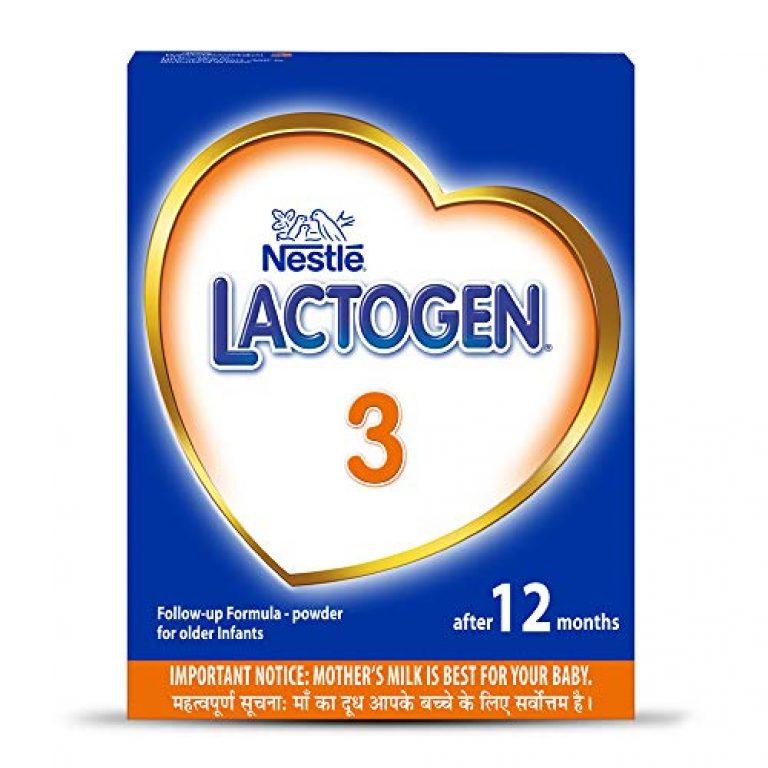 Nestlé LACTOGEN 3 Follow-Up Infant Formula Powder (After 12 months), Stage 3 – 400g Bag-In-Box Pack
