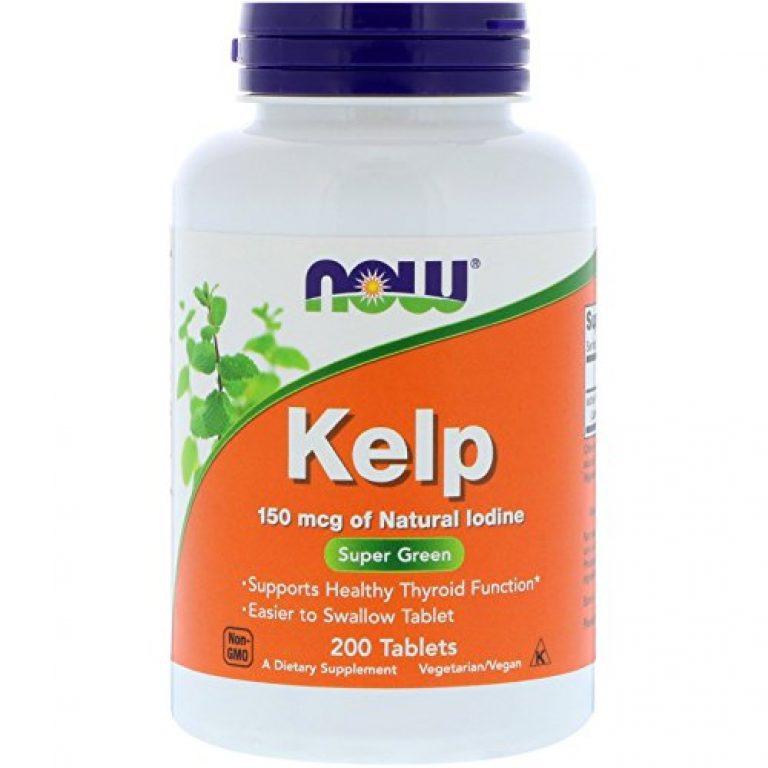 Now Foods, Kelp, 150 mcg, 200 Tablets