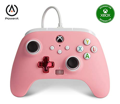 PowerA Enhanced Wired Controller for Xbox – Pink
