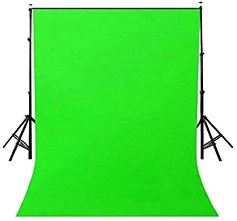 Priyam® 8 x12 FT chromakey Green LEKERA Backdrop Photo Light Studio Photography Background with Carry Bag