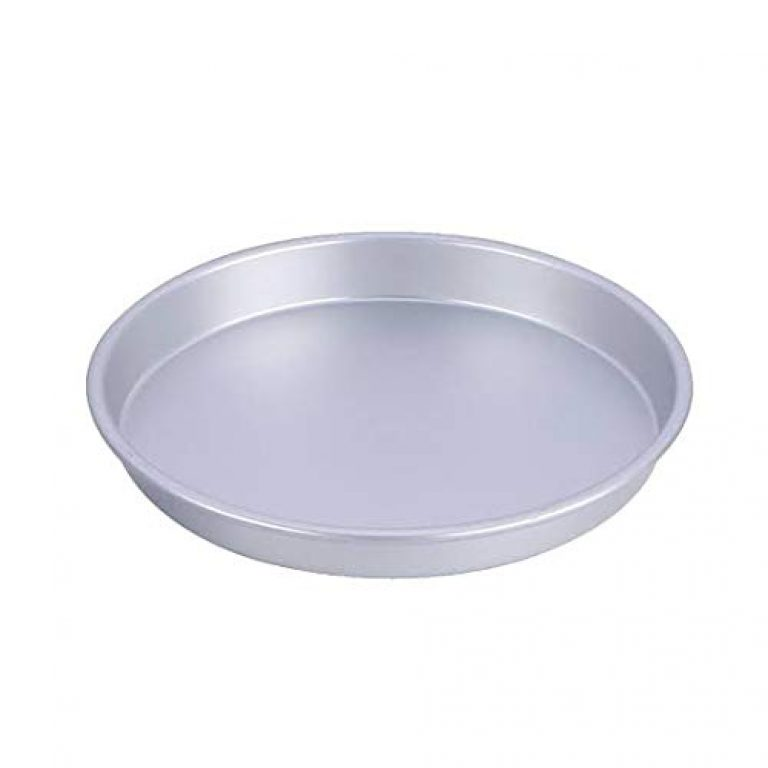 SEIKO Aluminum Pizza Plate/Pan for Oven – 8 Inch Tray (Anodized ; 18 Gauge)