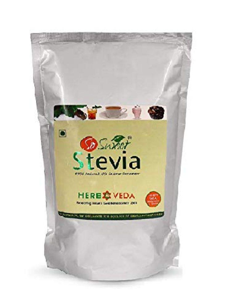 So Sweet Stevia Powder Sugar Free Natural Sweetener Zero Calorie 1kg