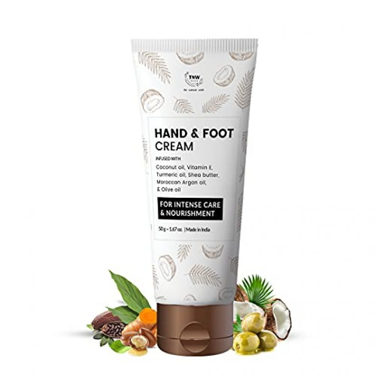 TNW – The Natural Wash Hand and Foot Cream for Nourished Hand & Feet | Non-Sticky and Quick Absorbing Hand & Foot Cream | Chemical-Free Cream for Excellent Moisturization